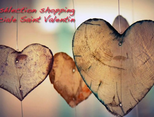 Ma selection shopping speciale Saint Valentin - Photo a la Une - Charonbelli's blog mode
