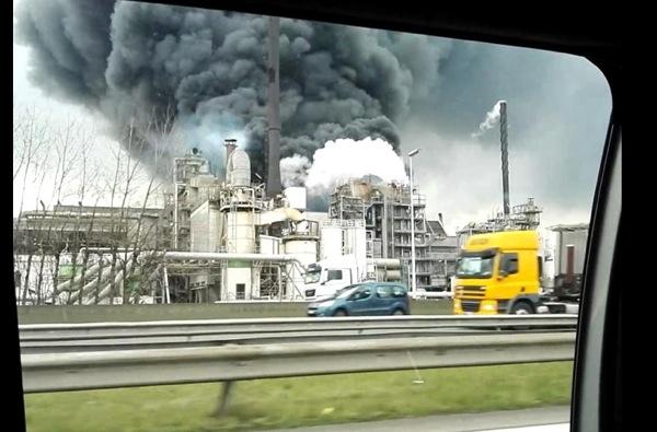 Indaver Antwerp Explosion