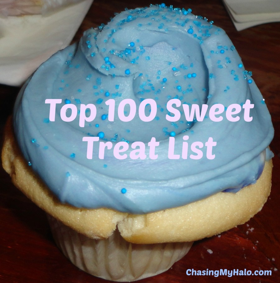 Top 100 Sweet Treat List
