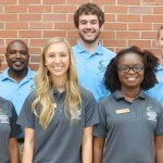 Central Carolina Community College Ambassadors for 2015-16 are pictured, left to right: front row, Sarah Shannon Mohamed, Cris Contreras, Landis Johnson, Rolander Mayo, and Lacey Kuenzler; back row, Chriss Harvin, Aaron Kovasckitz, Christian George, and David Pope III. Not pictured is Megan Blair.