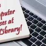 free computer classes at Chatham Library
