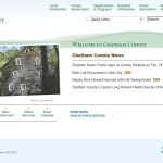 Chatham County Government website