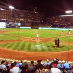 2016 ACC Baseball Tournament is being played at the Durham Bulls Athletic Park in Durham, NC. photo by Gene Galin