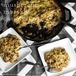 Marsala Mushroom Rice Casserole