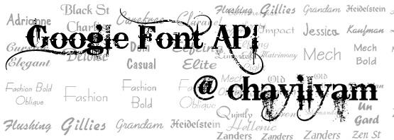 Dynamic Font Technologies