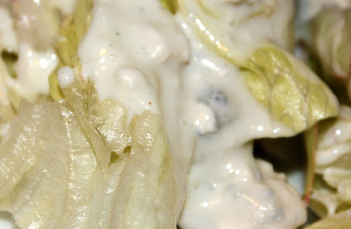 Three Ingredient Blue Cheese Dressing from The Food Lab