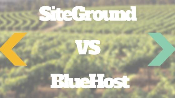 siteground vs bluehost