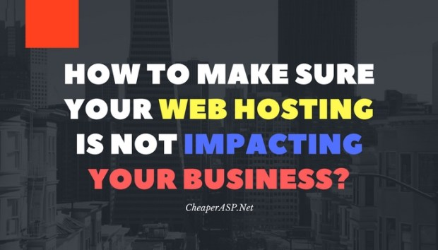 web hosting impact on business