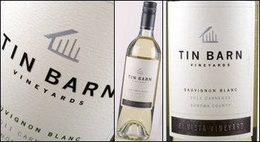 Tin Barn Vineyards Sauvignon Blanc