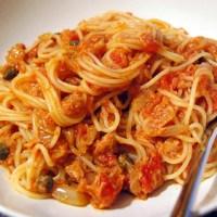 Espaguetis de atún con un toque diferente, receta de Gastón Acurio