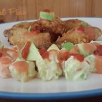 Alitas de pollo crocantes