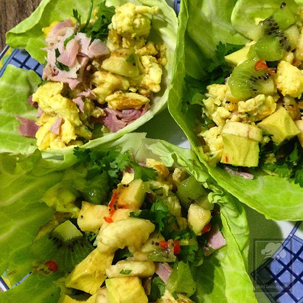 cheffinitup-fruitsalad-ham-scramble-wrap10