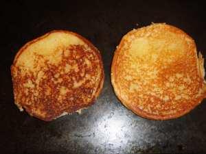 Toasted burger bun