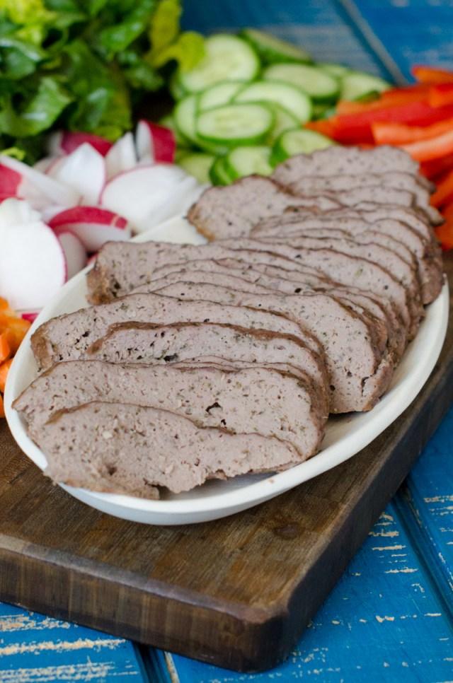 Gyros recipe from ChefSarahElizabeth.com