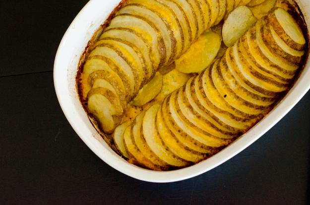 Cheesy Potato Wheels recipe from ChefSarahElizabeth.com