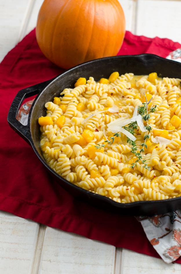 Italian Pumpkin Pasta recipe from ChefSarahElizabeth.com