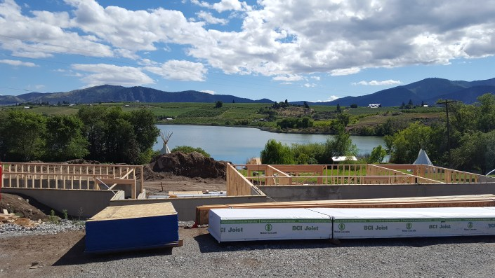 Wapato Lake Custom Framing by Shawn Sanderson
