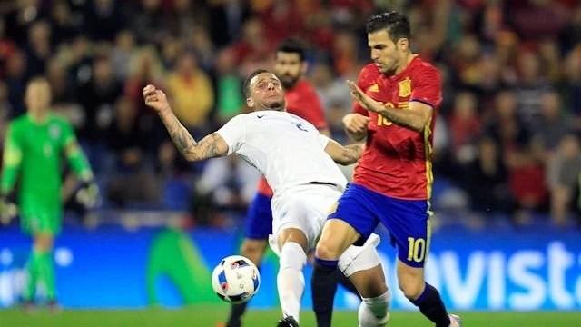 Fàbregas destacou-se pela Espanha (Foto: Chelsea FC)
