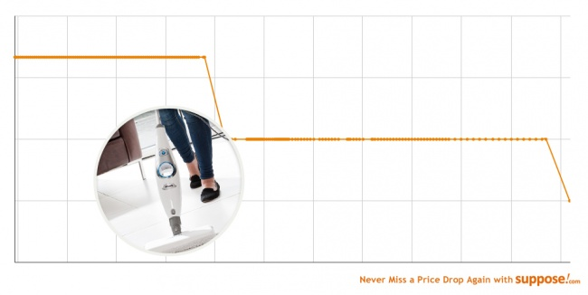 ... Steam mop at the bargain price of £29.98 instead of £99.99 – a