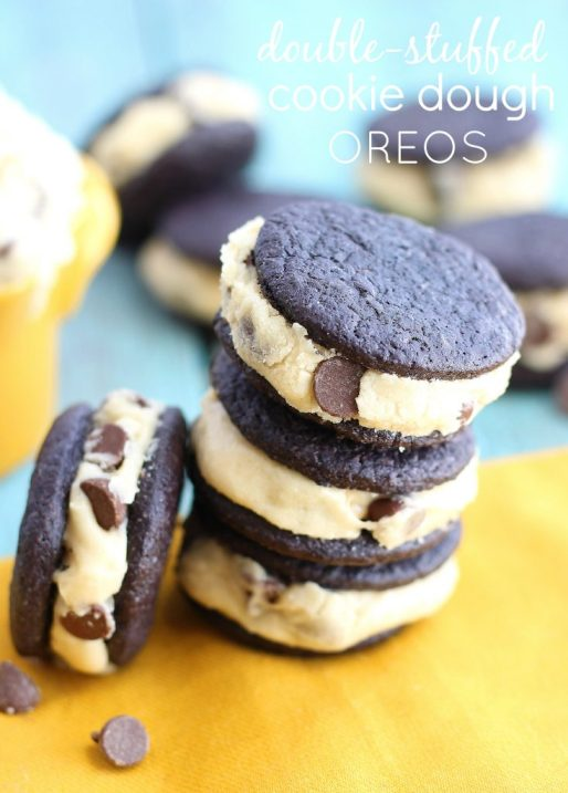 Copycat Cookie Dough Oreos from Chelsea's Messy Apron