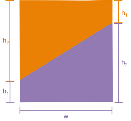 2 trapezoids