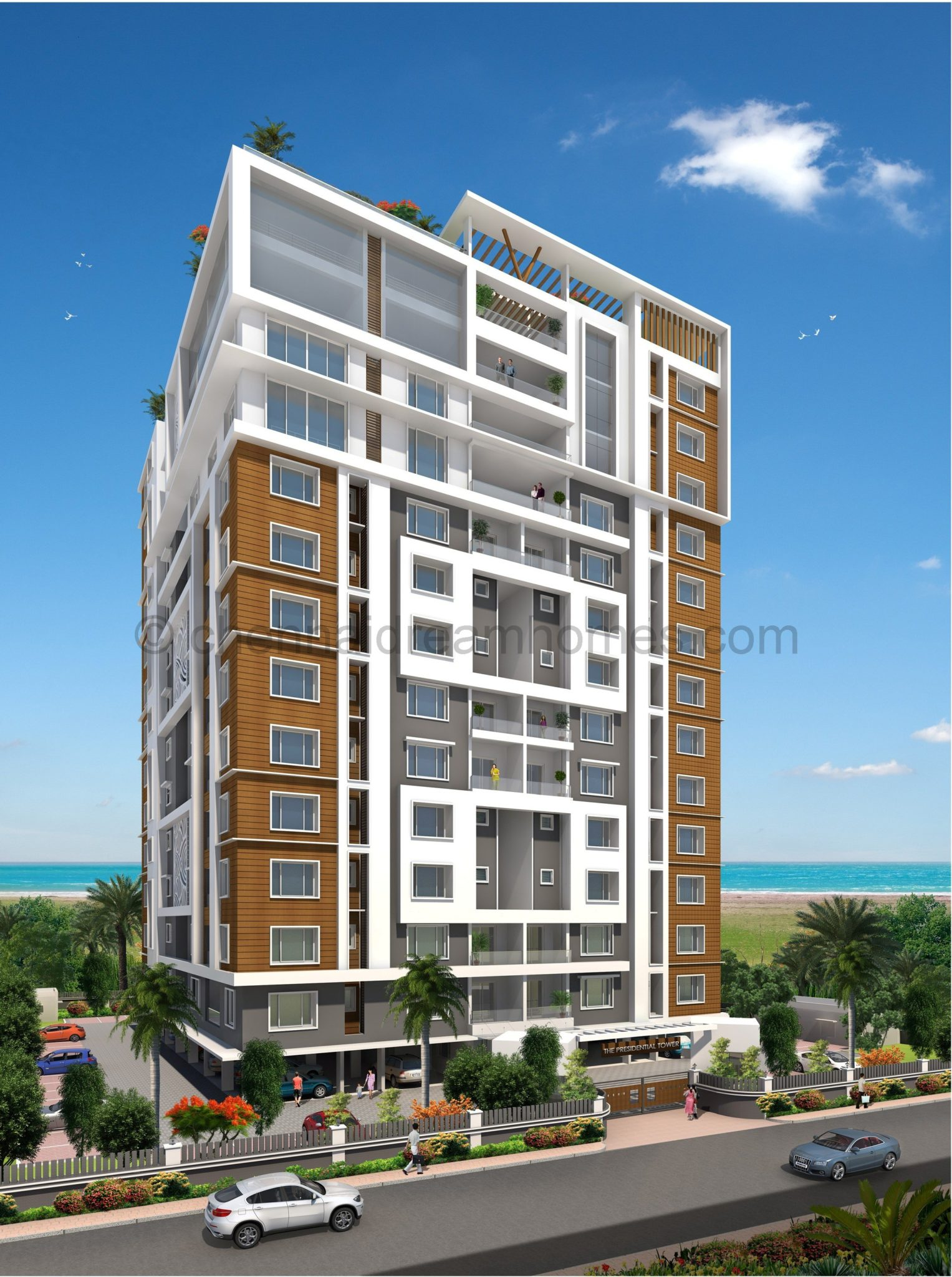 Apartments In Ecr 3 Bhk Multi Storey Homes For Sale With Sea View