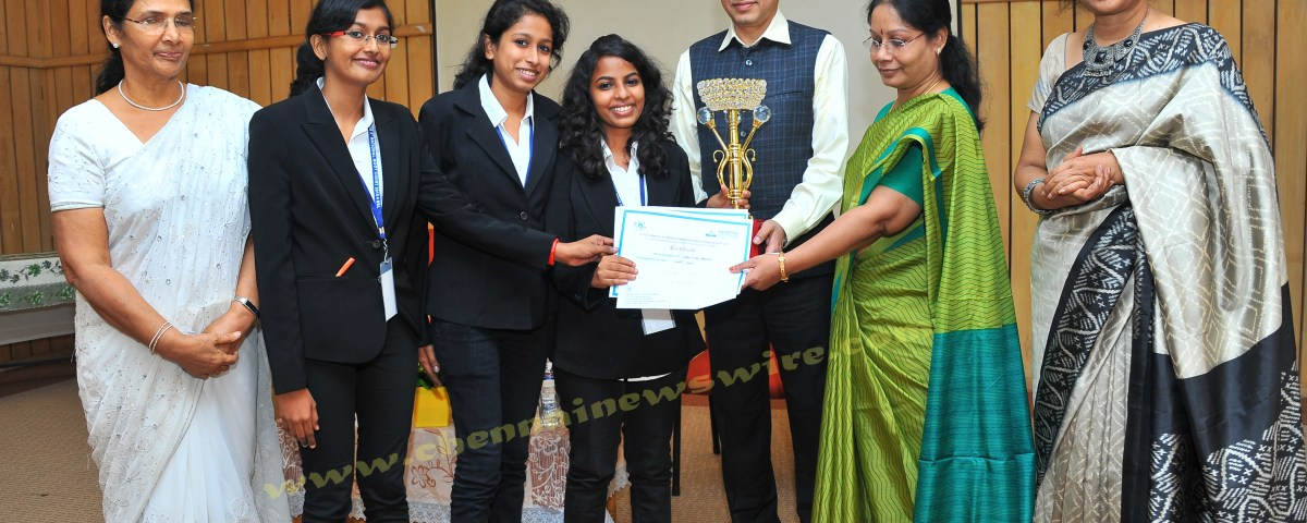 Saveetha University Competition runners up