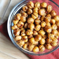 Oven Roasted Chickpeas