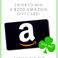 Get LUCKY Giveaway $200 Amazon Gift Card