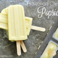 Hawaiian Cream Popsicles