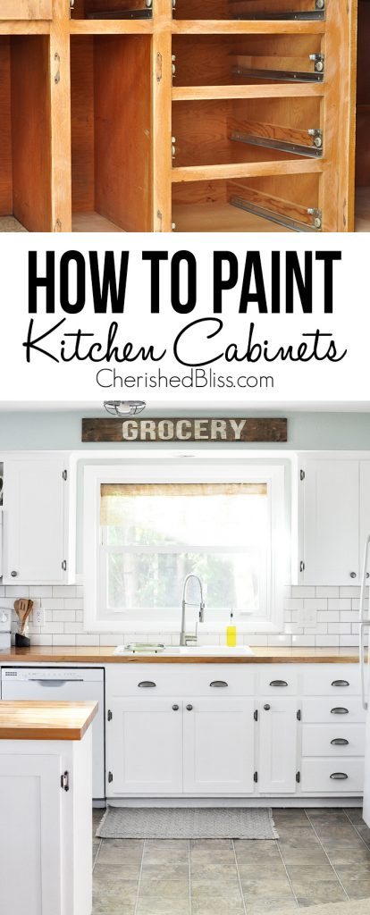 tips paint kitchen cabinets repaint kitchen cabinets Do you have ugly kitchen cabinets that need a makeover This tutorial shows you How
