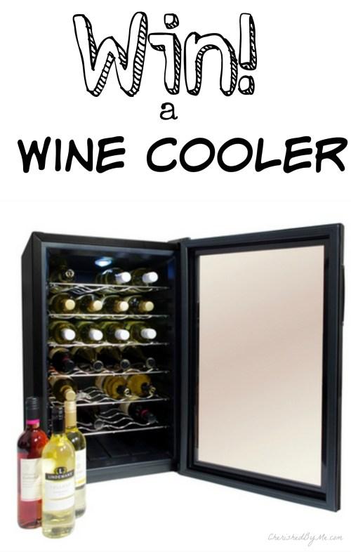 Win a freestanding wine cooler