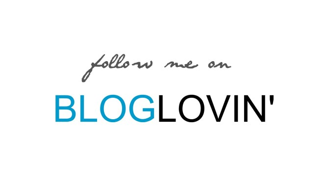 Follow Me on Bloglovin'