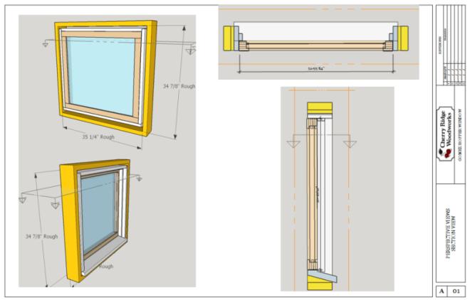 Hopper Window Layout