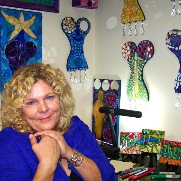 Artist Crush Anita Prentice in Studio