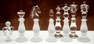 King Albert Edward Crystal Chess Set