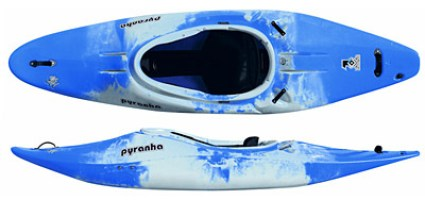 Z One Kayak , Stable yet a Progressive boat for introduciton to whitewater
