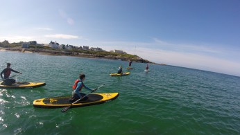 SUP ANGLESEY TREARDDUR BAY STAND UP PADDLE BOARD LESSONS INSTRUCTIONBAY