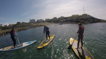SUP TREARDDUR BAY LESSONS ANGLESEY