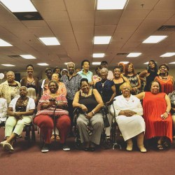 "These 25 women were honored as ""matriarchs"" of Bennett Homes."