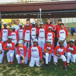 The Sharon Hill Ramblers youth baseballers are 2014 Delaware County champions. Photo courtesy of the team.