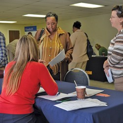 Better Living Center hosts job fair