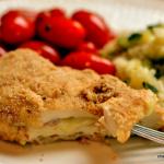 Easy Chicken Cordon Bleu with Lemon Zucchini Rice
