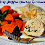 Easy Stuffed Chicken Roulades