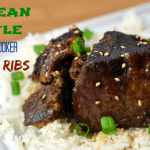 Korean Style Slow Cooker Short Ribs