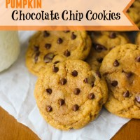 Pumpkin Chocolate Chip Cookies {& a Giveaway!}