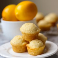 Meyer Lemon Mini Muffins
