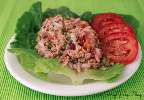 Paleo Fresh Tuna Ceviche
