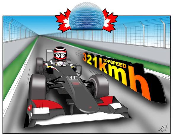 7. Canada ... hey, the top speed was great!!!
