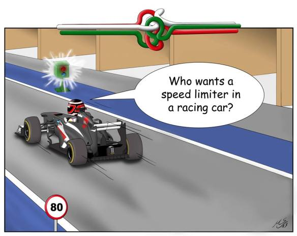 """""""10. Hungary... who wants a speed limiter in a racing car?"""""""